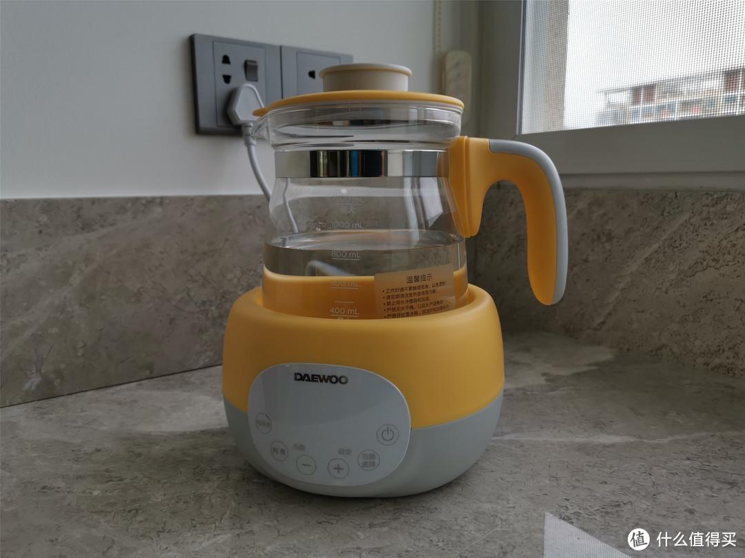 1机6用的奶娃神器:大宇小黄叽恒温调奶器