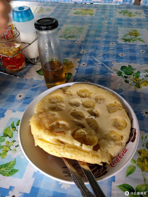 这香蕉煎饼和我想的不太一样