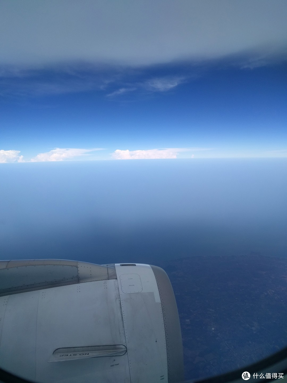 航路上都是海,还挺好看