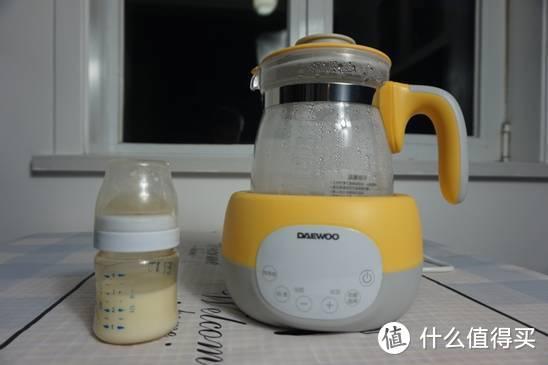一机多用,陪伴孩子成长-大宇调奶器评测