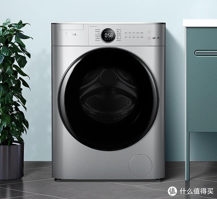 智能洗衣机就该是这样的,美的全自动滚筒洗衣机Y1Y体验