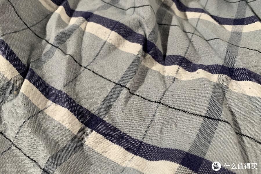 劣质棉纱起球示例(布叫兽亲测款)