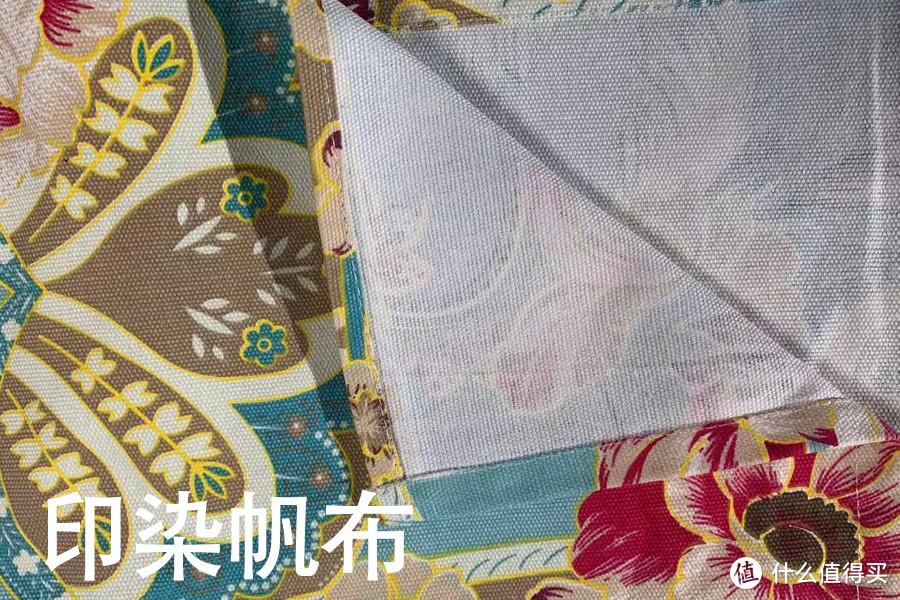 印染帆布示图(也是纯棉材质)