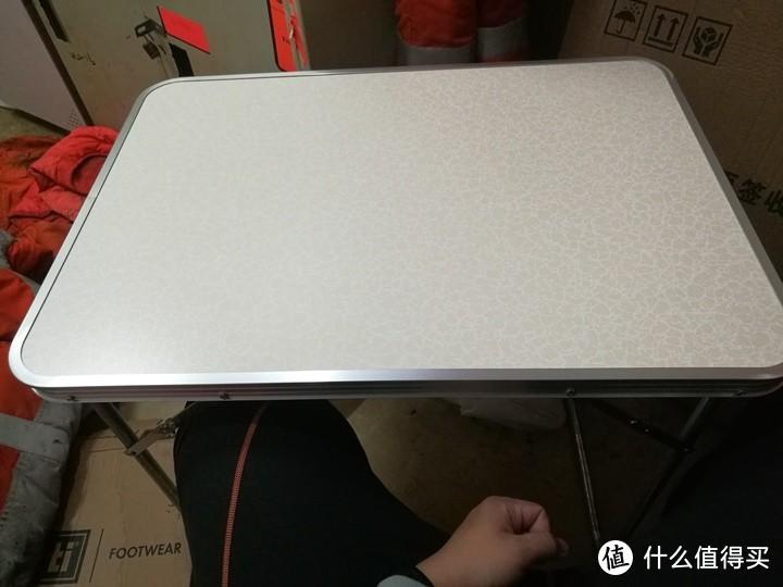 28包邮的煜嘉折叠加强70*50.7*60.5小桌子开箱测评