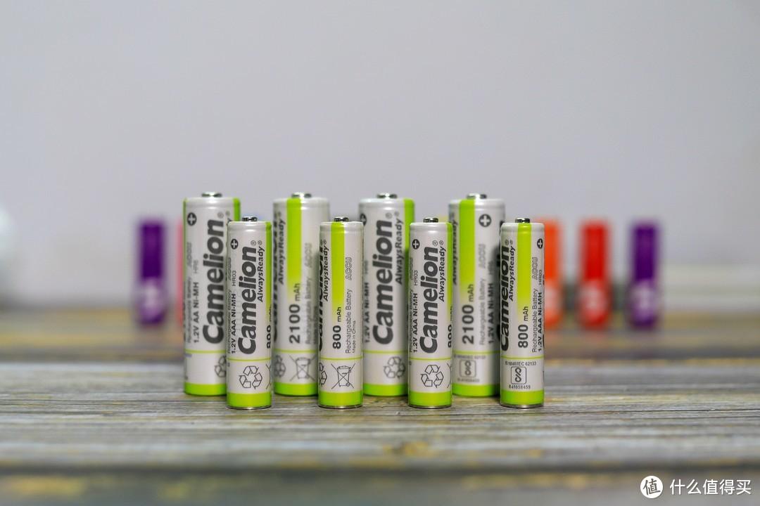 让续航更久一点,Camelion飞狮低自放镍氢充电电池套装试用