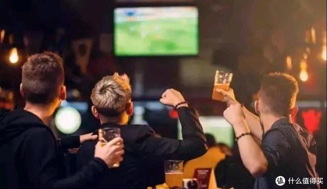 足球配啤酒,收米必须有!