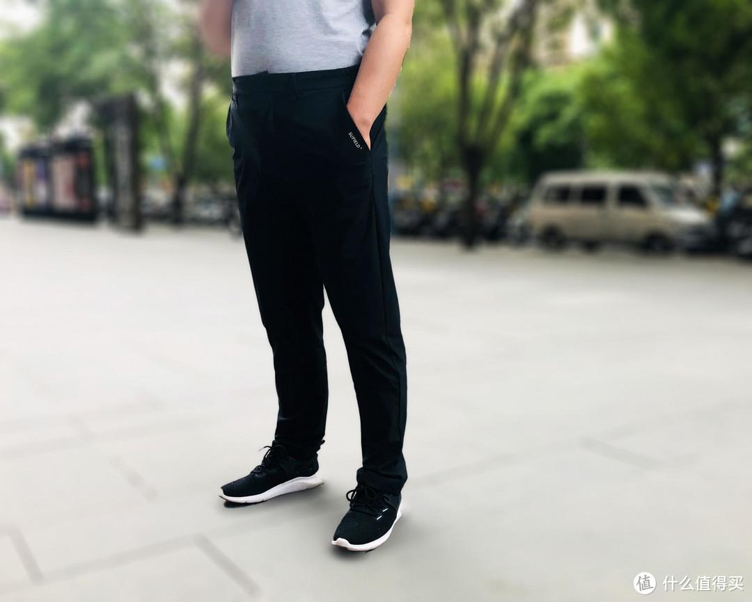 """夏天真的需要一条""""行走的空调"""",素湃凉感休闲裤,清凉一夏"""