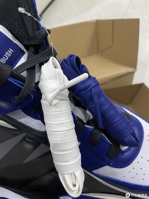 附赠的鞋带