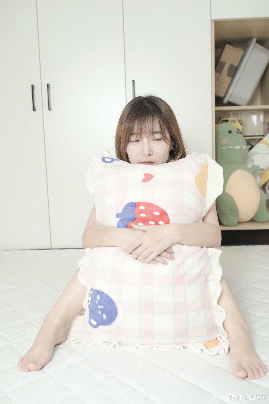 """可""""软""""可""""硬""""!金海马乳胶+椰棕床垫,小姐姐的SPA级实睡体验!"""