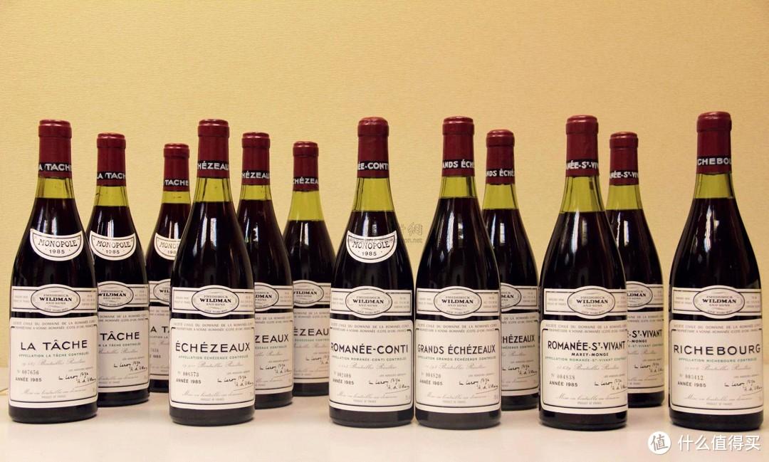 (DRC是全球最贵的葡萄酒,DBR是中国人最熟知的拉菲品牌)