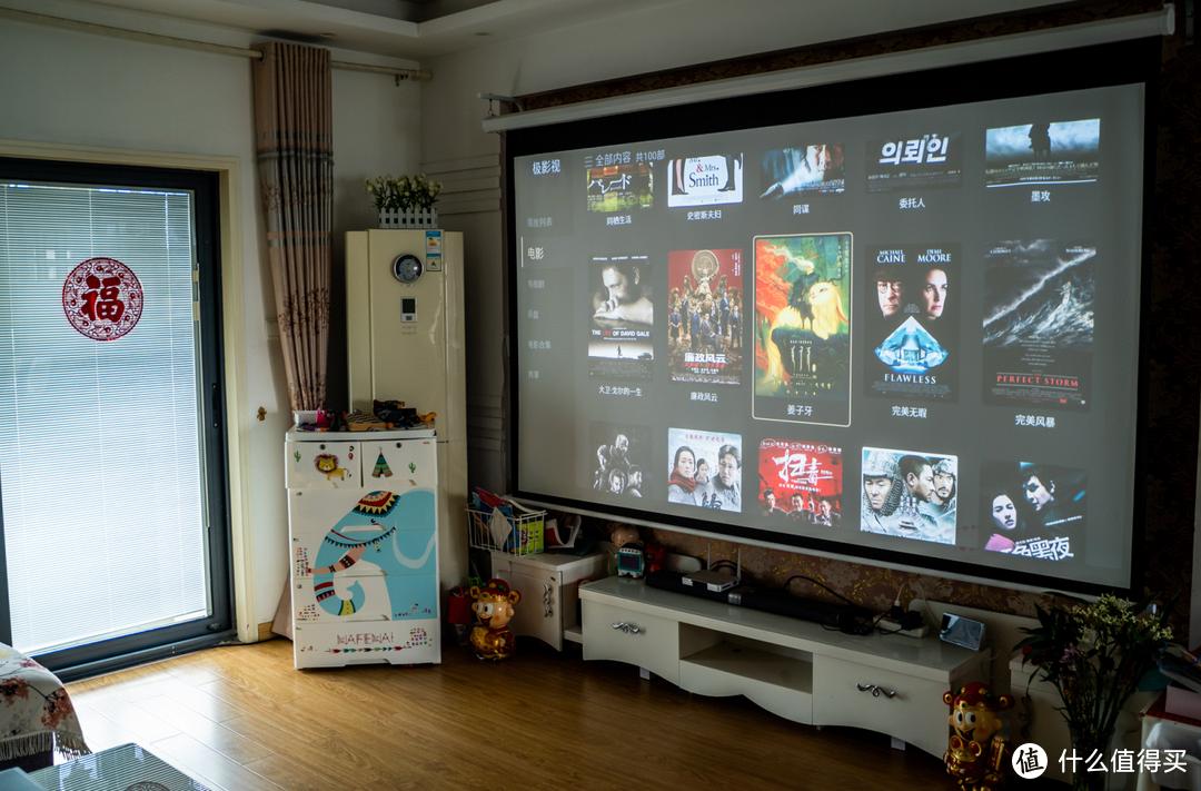 家用4K投影仪优选:优派 Q10 智能家庭影院投影机 体验测评!