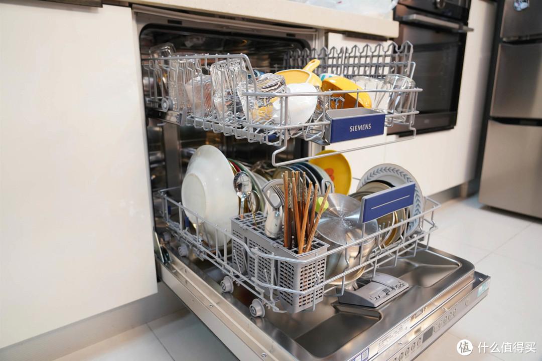 最新款西门子SJ436B09QC全嵌入式12套洗碗机安装效果、洗涤性能如何、本篇给你答案