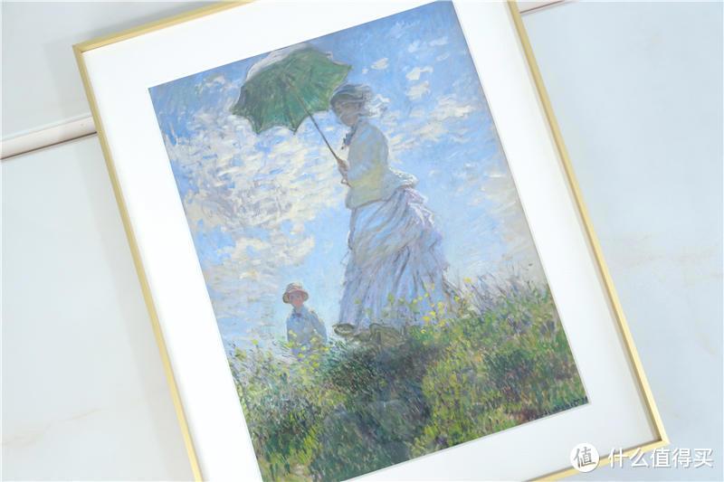 莫奈《撑阳伞的女人》复刻版分享!此生只爱你一人,只为你作画