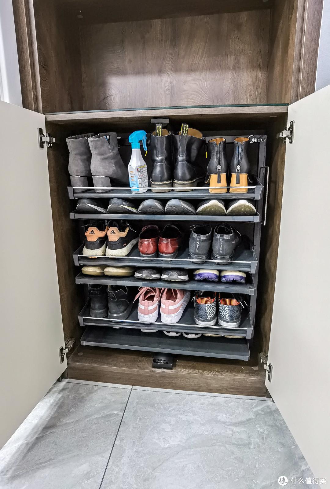 这篇给大家分享一下我安装的旋转鞋架。