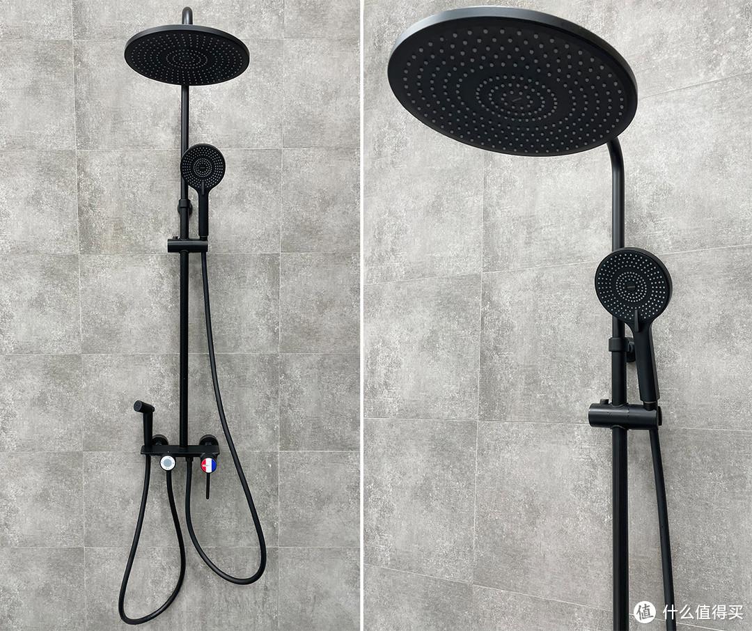 北欧风浴室的安装效果
