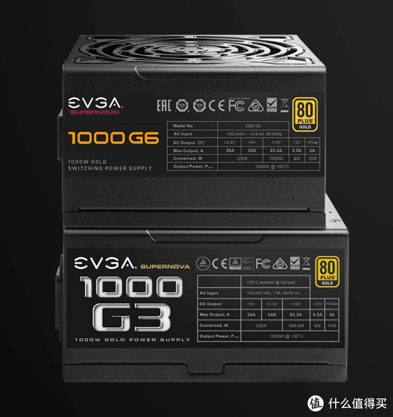 EVGA 发布 SuperNOVA G6系列金牌电源,全桥架构、仅14cm长、10年质保