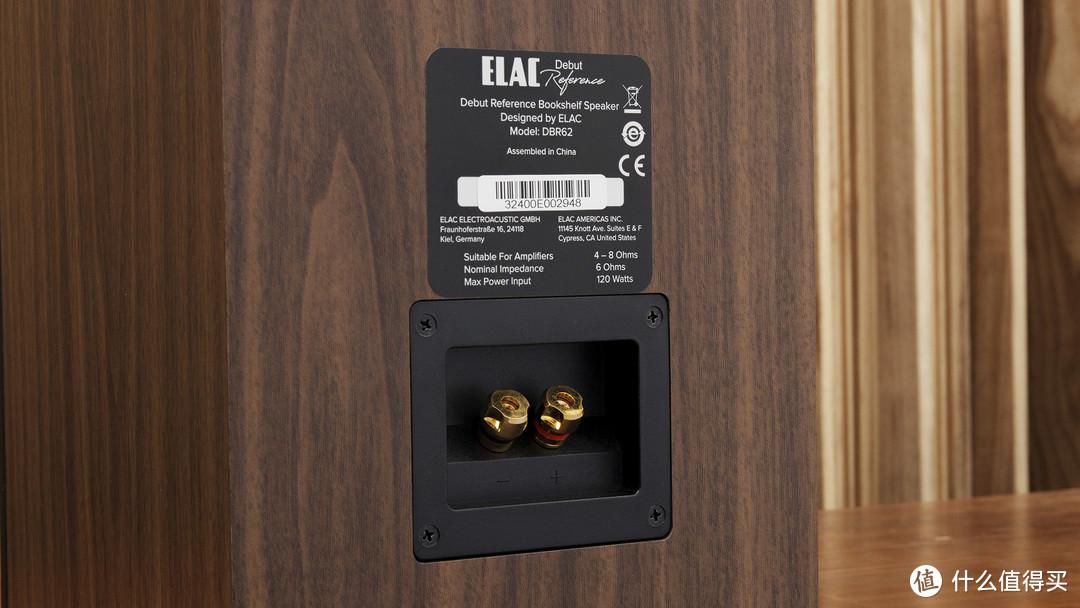 毒德大学?声价比出色的Elac意力DBR62书架音箱