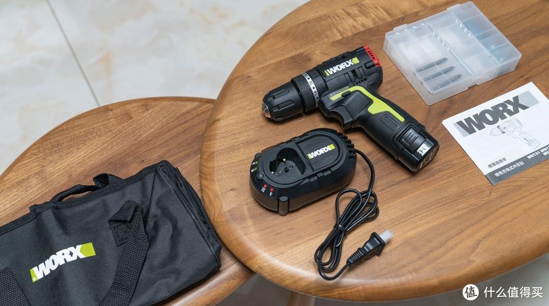 """男人""""拆家""""都该有把称手的电动工具,威克士锂电无刷冲击钻WU131入手体验"""