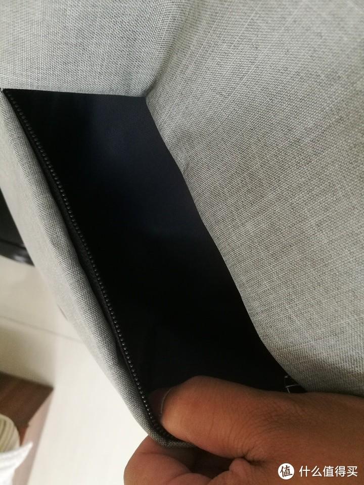 33包邮的Mysens17.3寸双肩电脑包充电款开箱测评