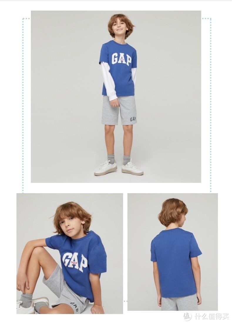 Gap童装T恤特卖清单,百元以下、低至3折,附618详细攻略,290元买600!