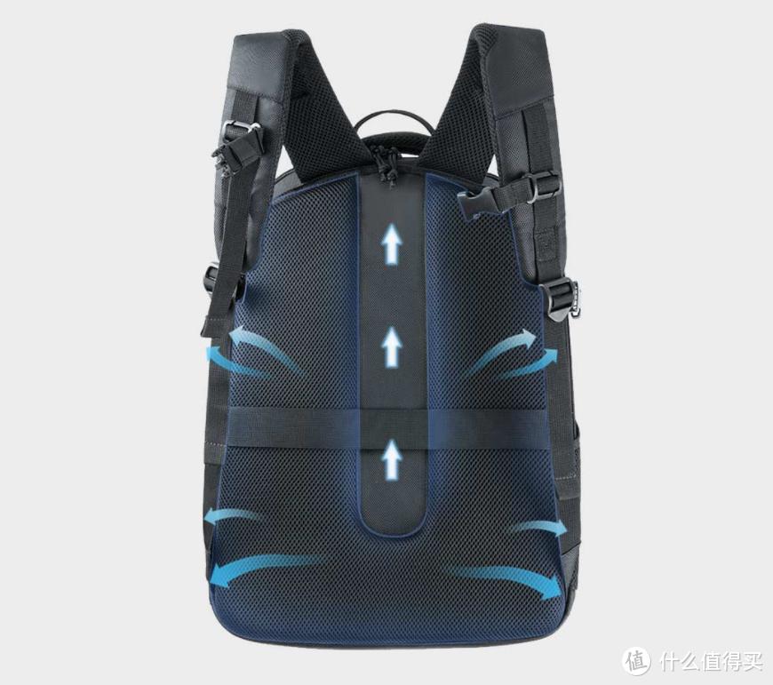 超大容量,多功能收纳设计:悠启大容量双肩背包体验