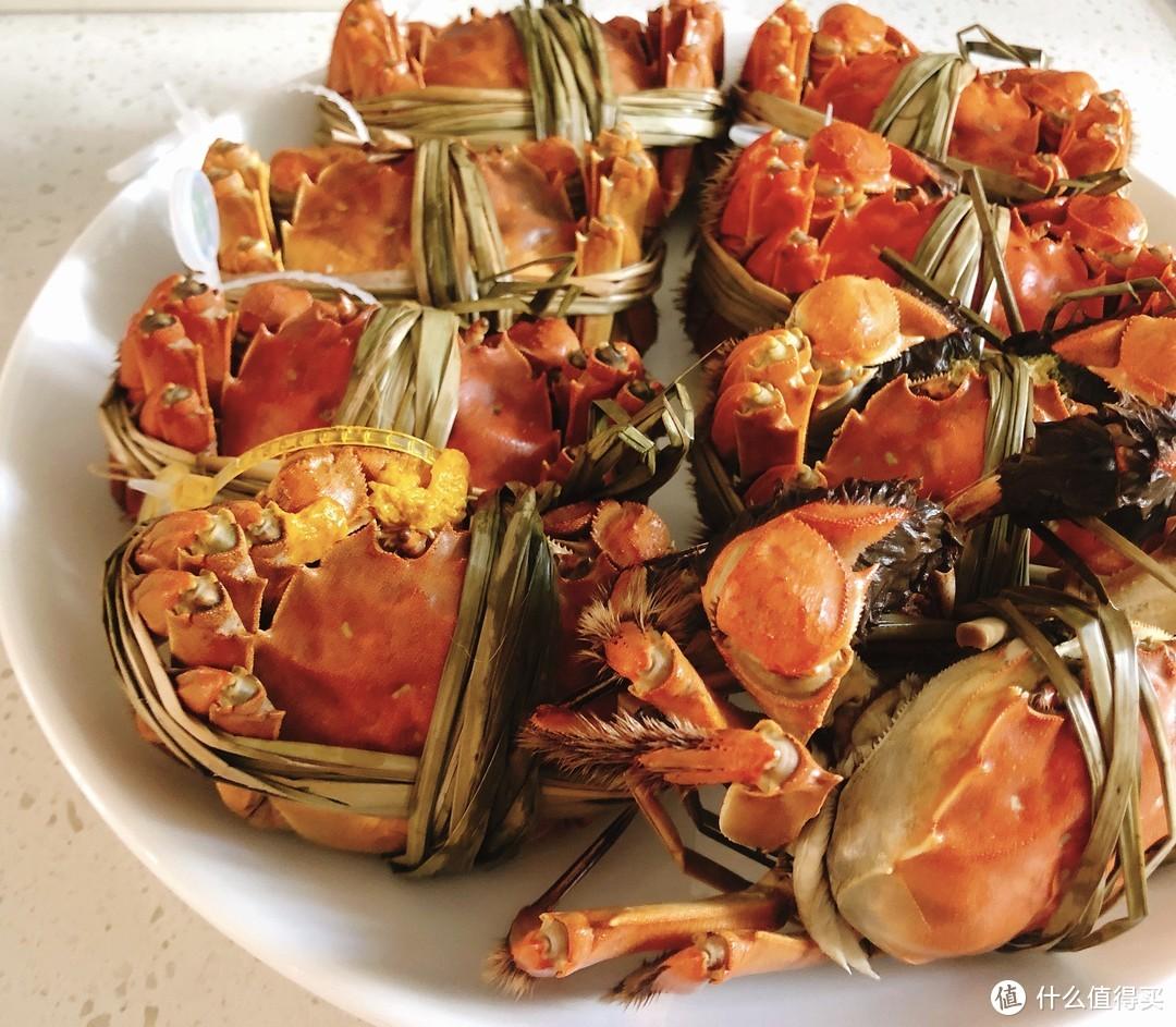 整盘大螃蟹