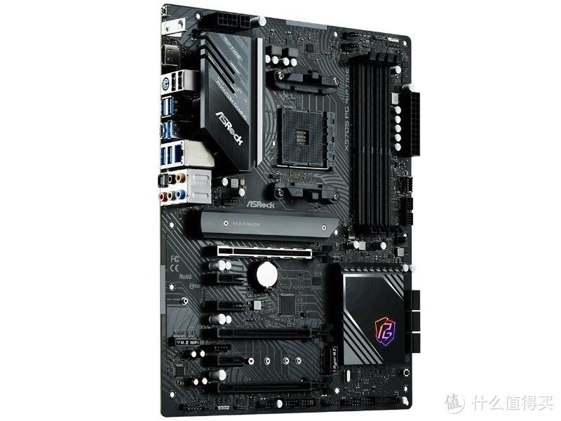 华擎发布 X570S/B550 PG Riptide 主板,2.5G千兆、还带显卡支架