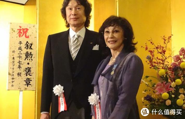 KOEI创始人襟川阳一与夫人