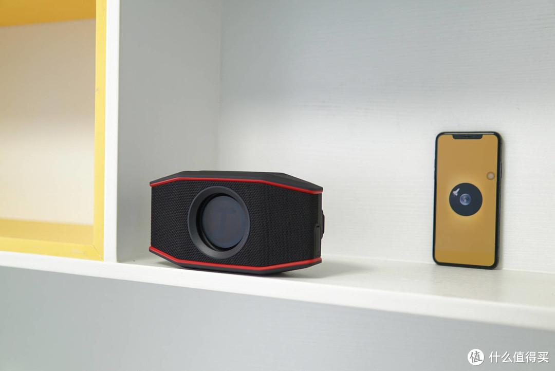 来自德国的好声音,德斐尔小魔盒蓝牙音箱,诠释氛围感低音