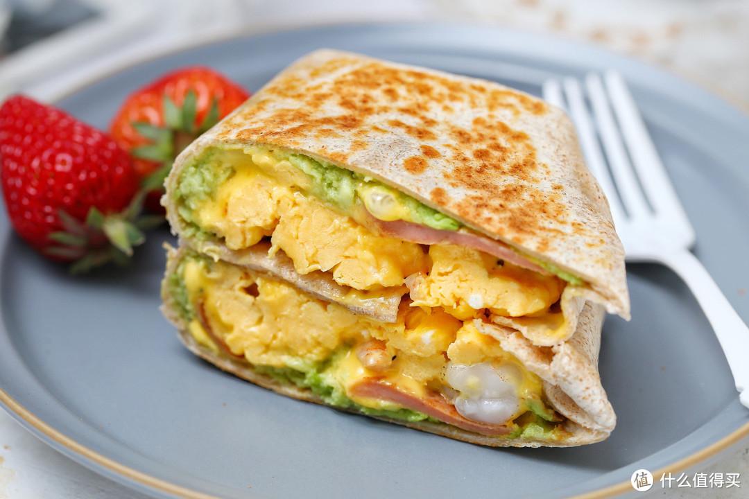 连吃一周也不腻的早餐饼,有虾有蛋营养均衡,简单快手十分钟上桌