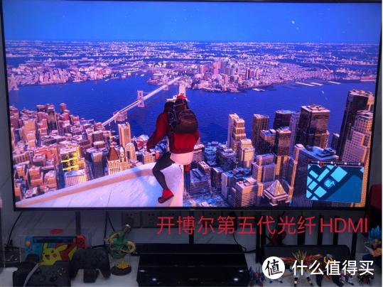 开博尔HDMI2.1五代8K光纤线铠装版HDMI协会认证玩家开箱评测
