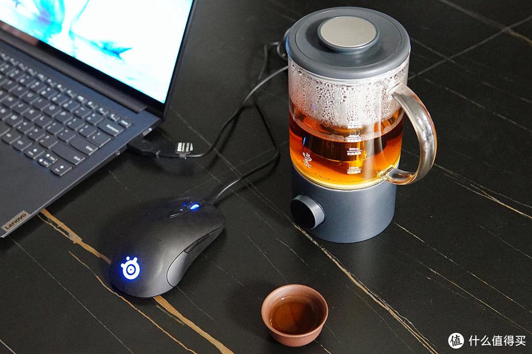 入手鸣盏智能搅拌煮茶器,我家的速溶咖啡包可以丢了