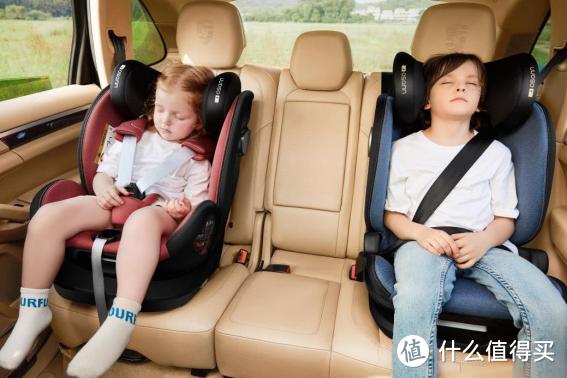 左图:五点式安全带     右图:车载安全带