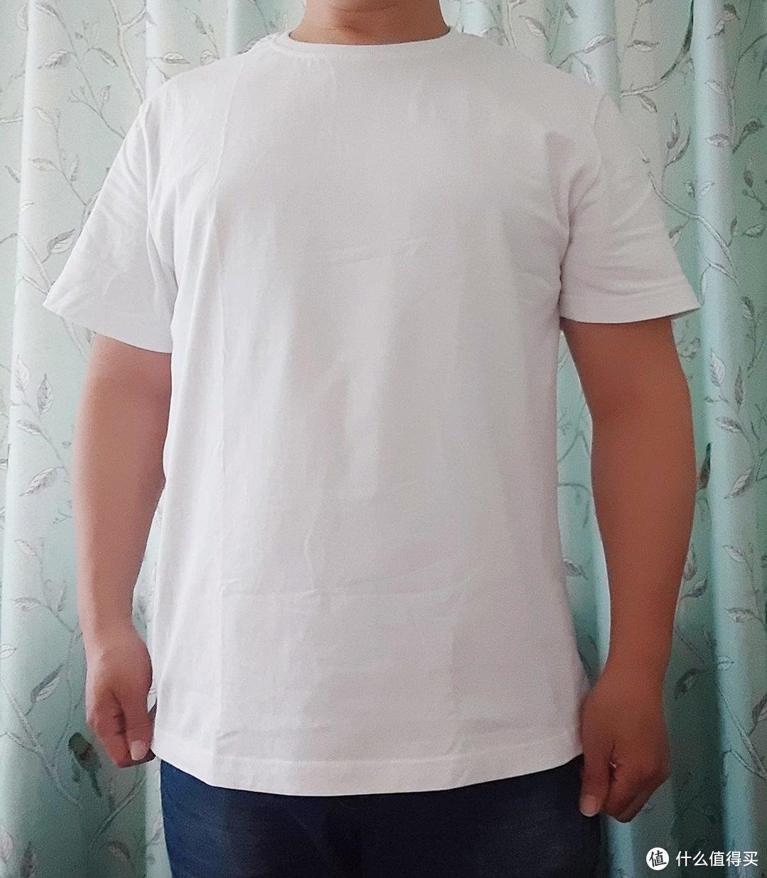 有品生活|纯棉舒适,上纺拾柒棉速吸T恤的穿着体验