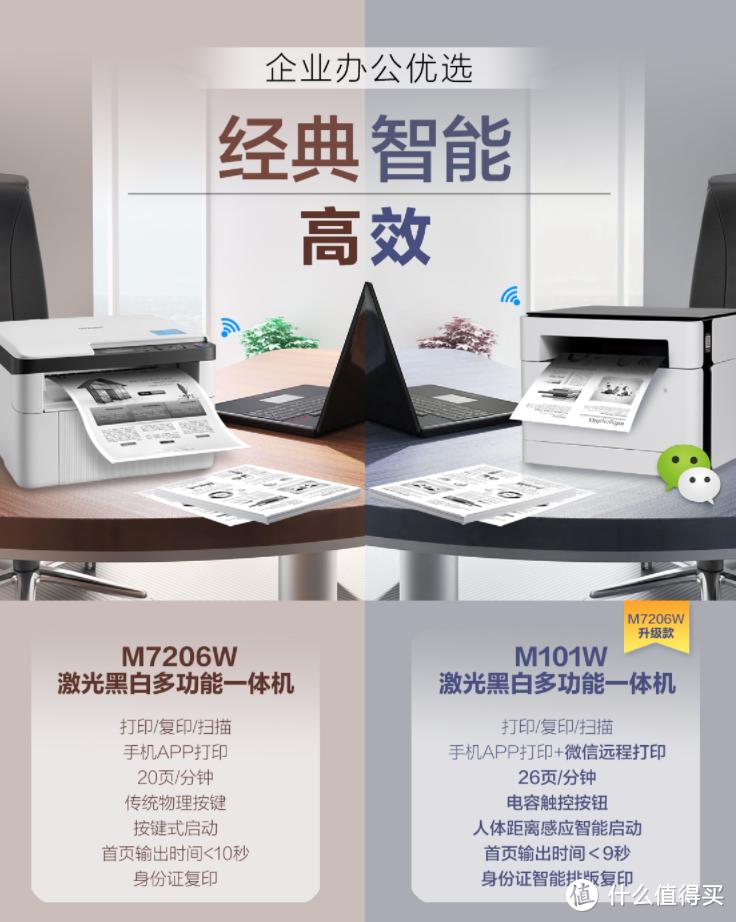 打印作业再不焦虑 基础耐用的千元激光黑白wifi打印机推荐