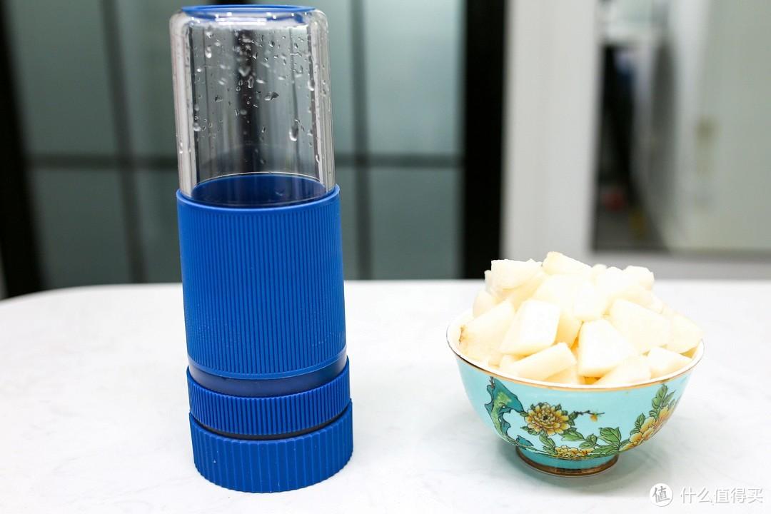 可颜可甜的夏日解暑神器:BleuJamais蓝陌制冷榨汁机便携小鲜杯评测