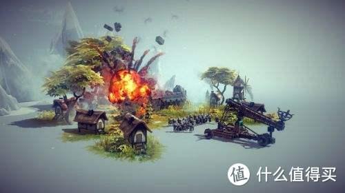 一款自己组装攻城器械攻城的游戏