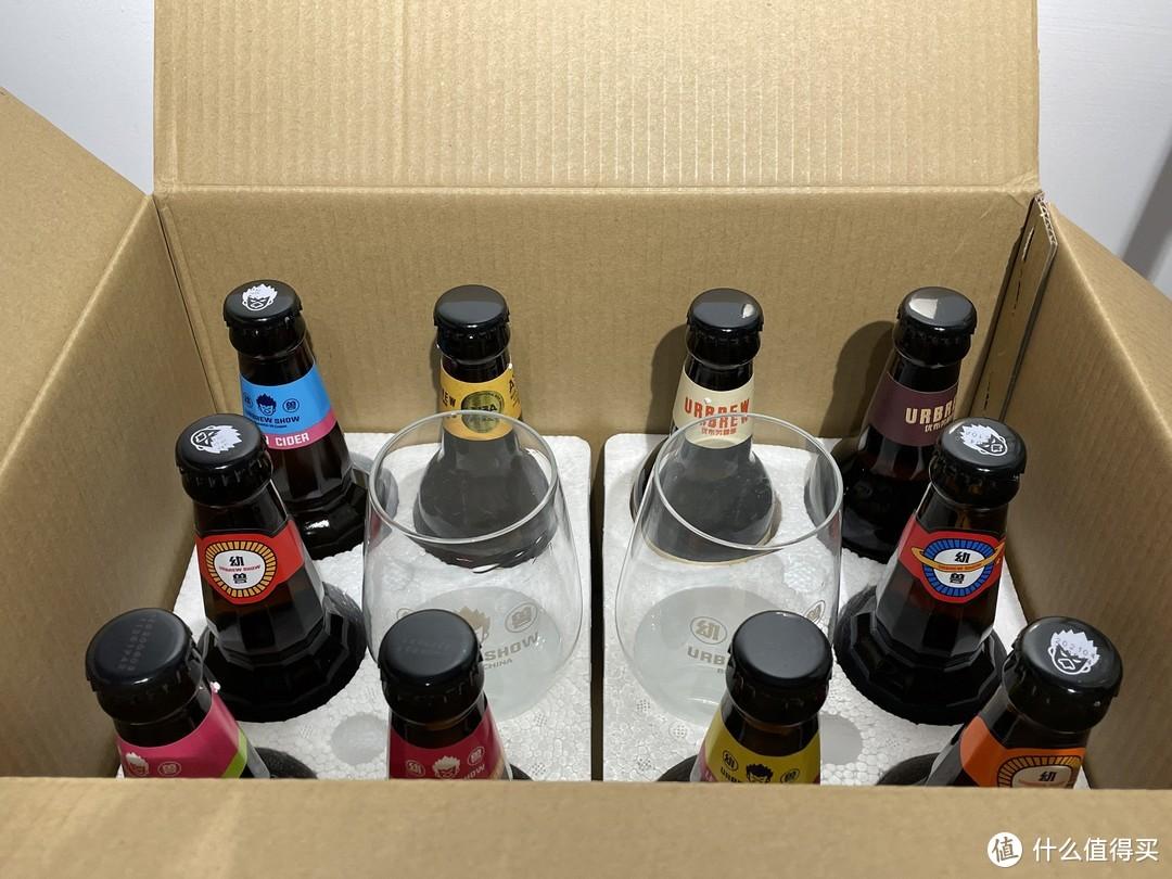 优布劳精酿组合全家福开箱测评,多种口味混合装,初尝必选!
