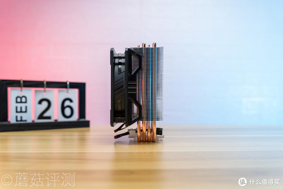 外观漂亮,设计精致、酷冷至尊暴雪T400I酷炫版ARGB风冷散热器 评测