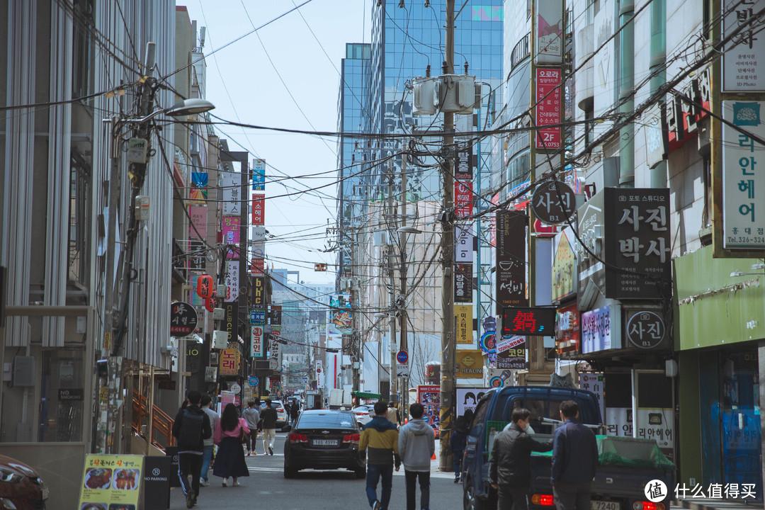 疫情期间的韩国走马观花