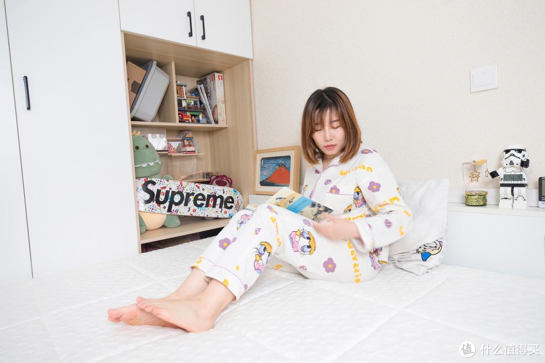 睡过了之后~ 每天都想,赖在床上!喜临门深睡精灵床垫众测报告