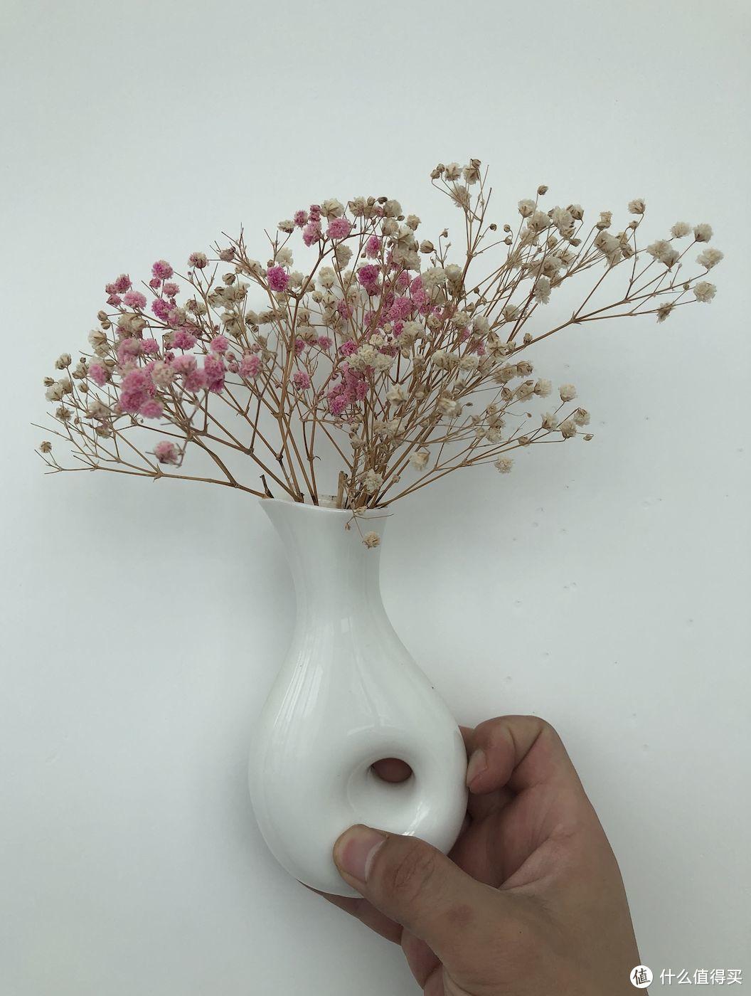 干花瓶效果图