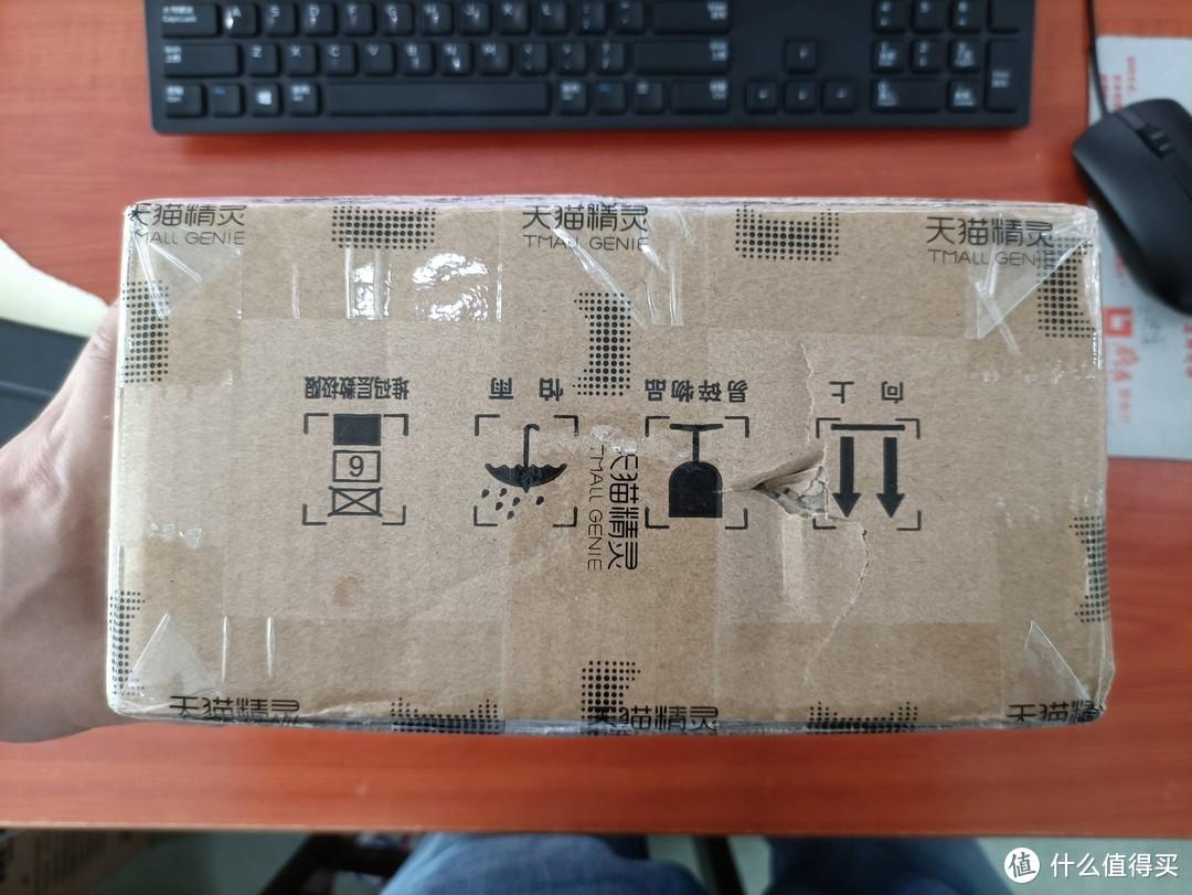 图书馆猿の半价TMALL GENIE 天猫精灵 CC7 智能音箱 简单晒