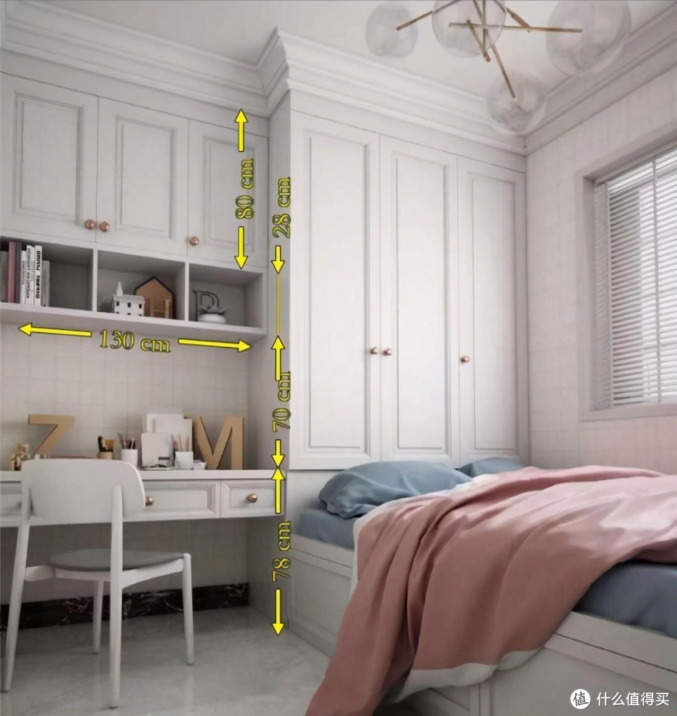 实用创意||小户型,衣柜+书柜组合柜设计不能少
