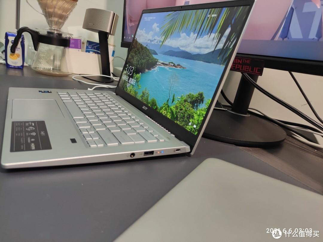 英特尔Evo认证,Acer非凡S3笔记本 上手体验 ——可与锐龙R5一战的轻薄本