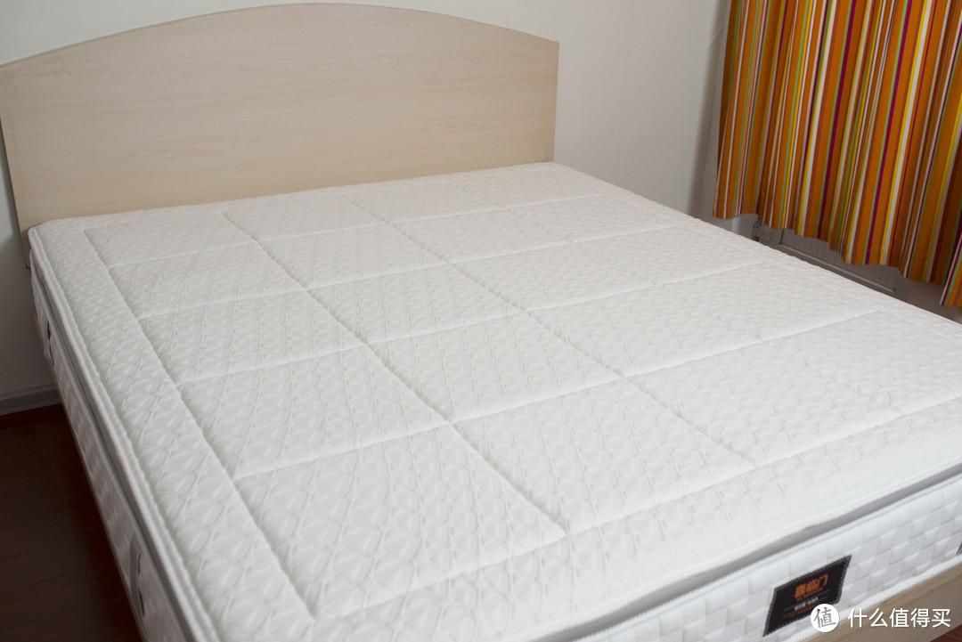 黄麻+乳胶+独袋弹簧+三重抗螨!性价比高端床垫,喜临门 深睡精灵众测体验!