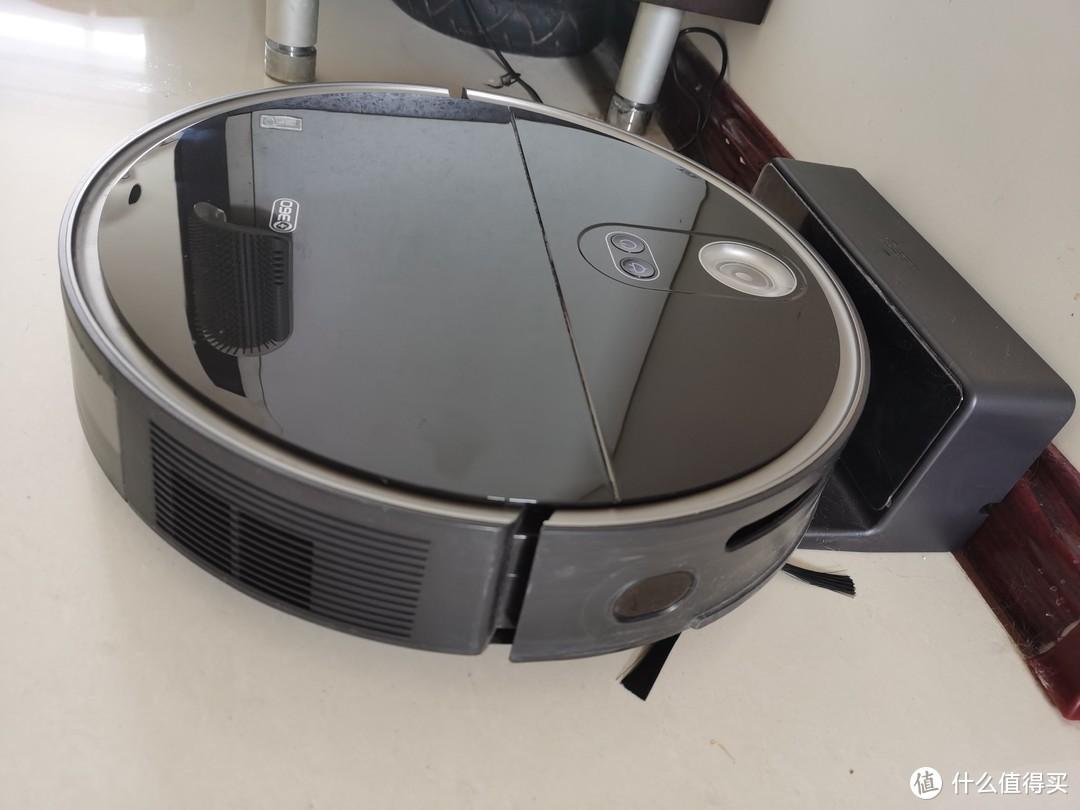 360扫地机器人X100MAX隐藏雷达机身薄