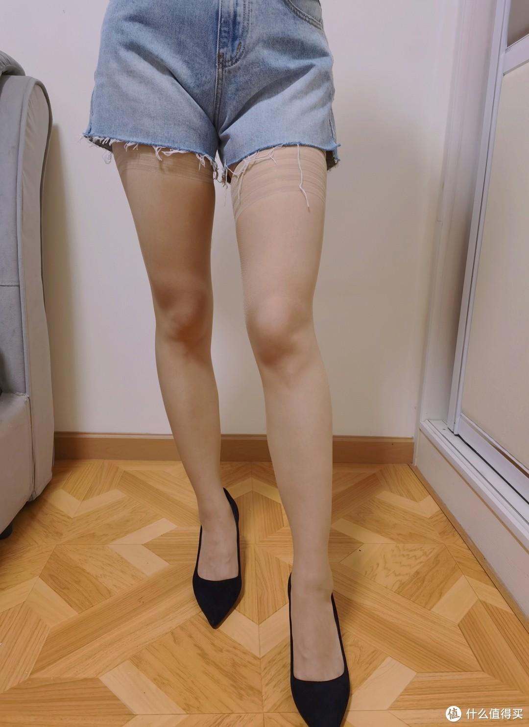 7款丝袜真人试穿,看看哪款美腿、显瘦、不勾丝