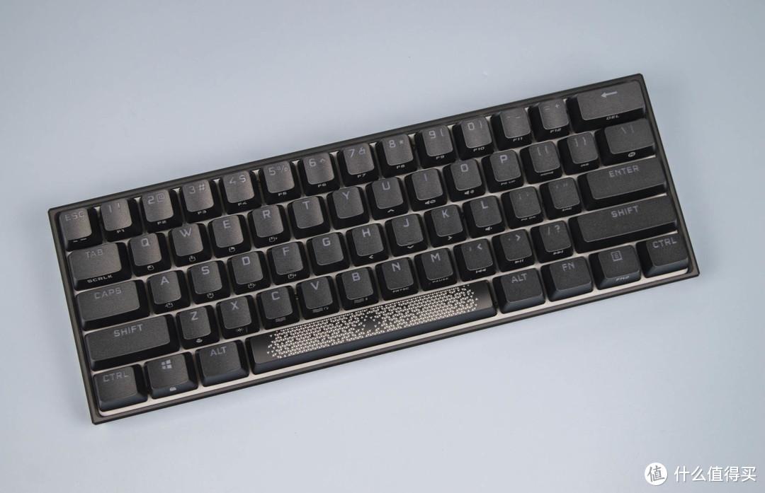 小而精悍—美商海盗船K65 mini游戏机械键盘