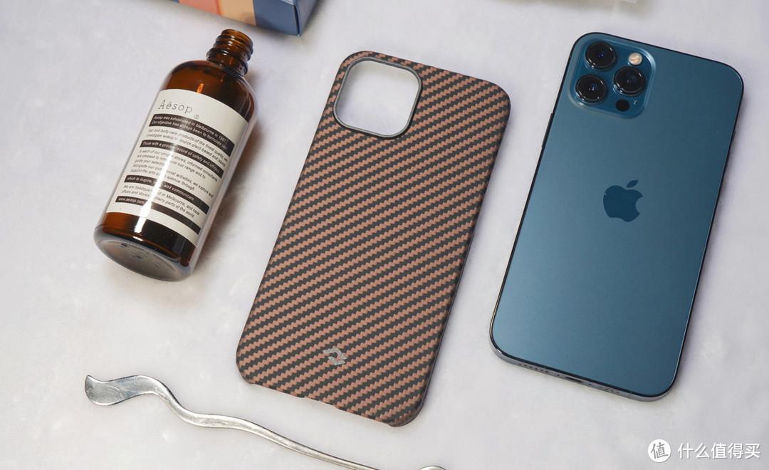 618新买的iPhone12,别忘记配Pitaka高端清爽手机壳